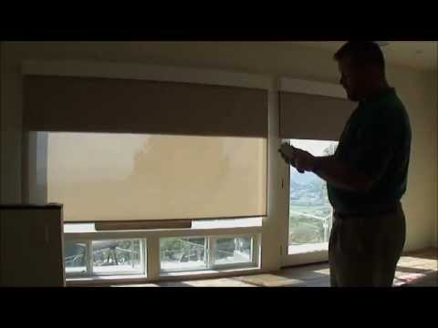 QMotion Battery Motorized Silent Dual Screen & Blackout Shades by 3 Blind Mice San Diego
