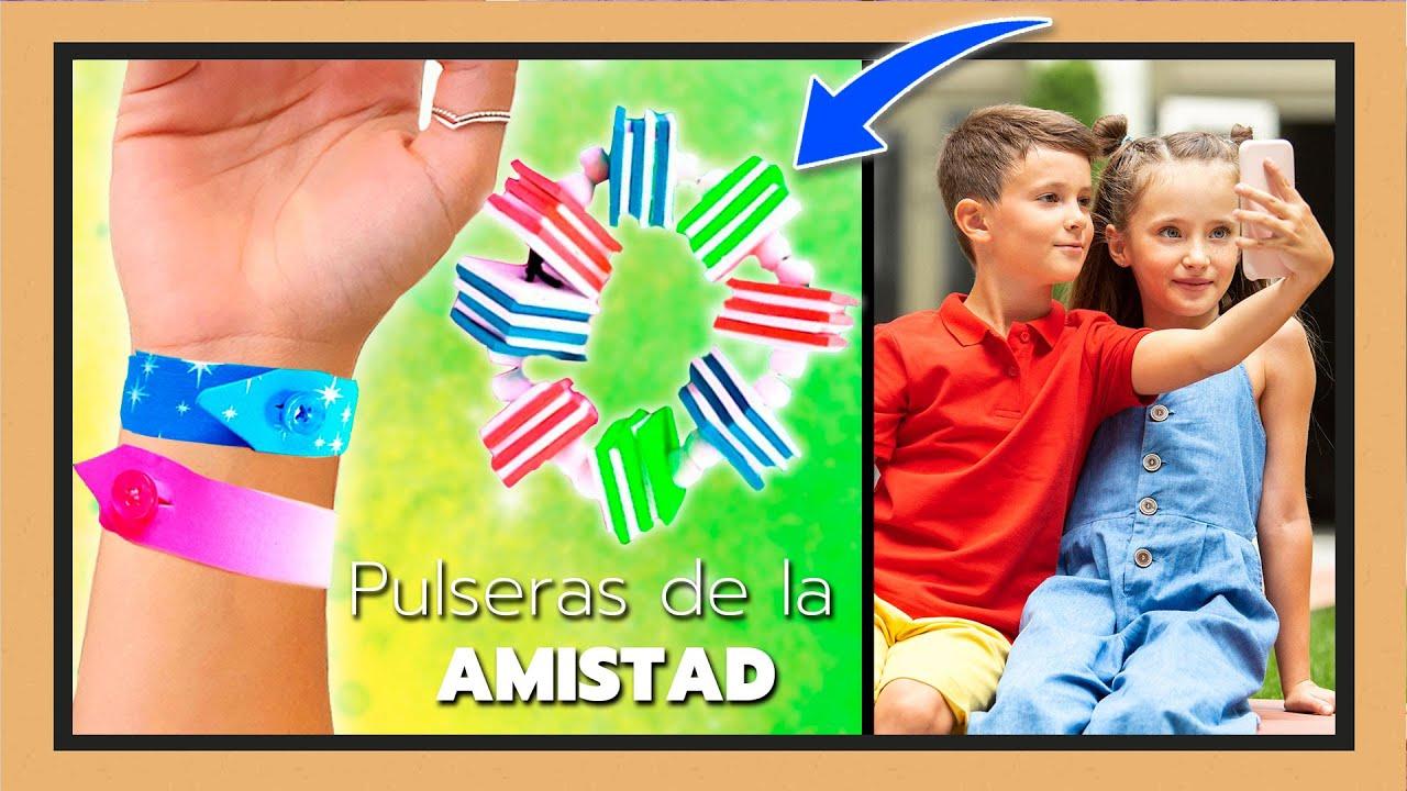 ¡PULSERAS de la AMISTAD! Las MEJORES IDEAS para REGALAR a tu mejor AMIGO by EnCÁJAlo