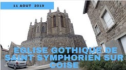 Eglise Gothique de Saint symphorien sur coise,By GLG