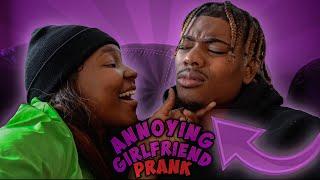 ANNOYING MY BOYFRIEND PRANK TO SEE HIS REACTION | BOYFRIEND VS GIRLFRIEND