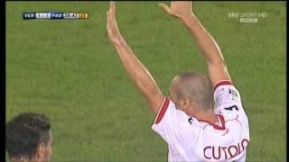 Hellas Verona 2-2 Padova gol di Cutolo 16-9-2011 Highlights & Goals HD