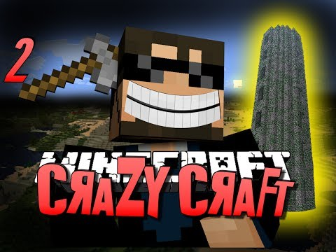 Minecraft CRAZY CRAFT 2 - WTF IS THAT THING (Minecraft Mod Survival)
