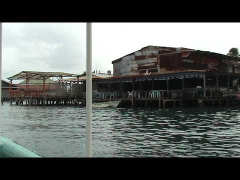 Bocas del Toro, Panama waterfront