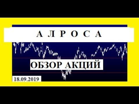 Акции АЛРОСА /ОБЗОР /ПРОГНОЗ/ТРЕЙДИНГ/АНАЛИТИКА 18 09 2019