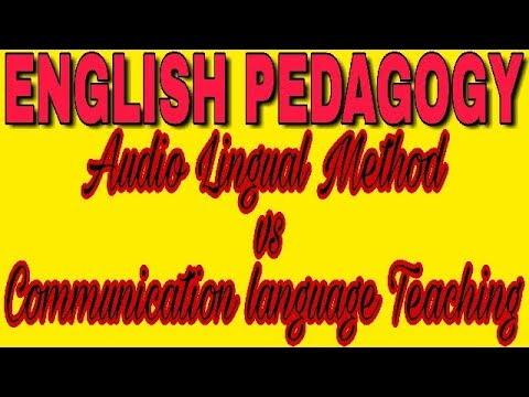 Audio Lingual Method VS Communication Language Teaching