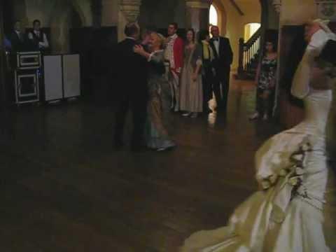 The First Dance Vienesse Waltz Victorian Wedding Lucas And Iz