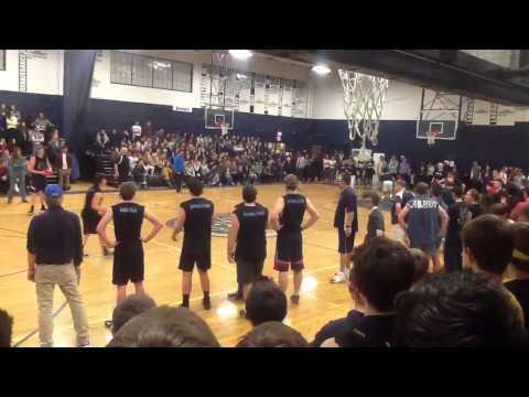 South Kingstown High School Dodgeball Tournament 2015 Part 5