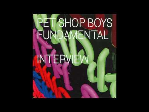 Pet Shop Boys  -  Rare Fundamental Interview CD Promo