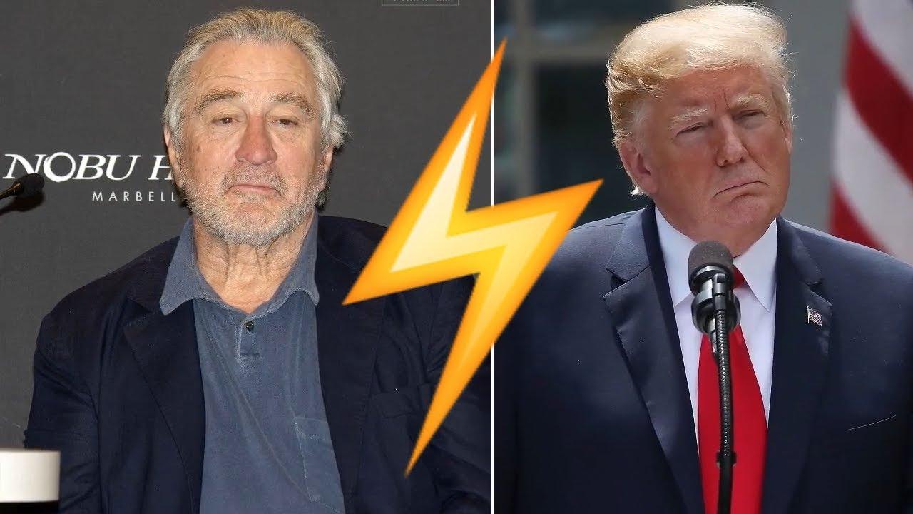 Robert De Niro calls Donald Trump a 'wannabe gangster'