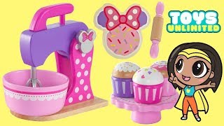 Minnie Mouse Deluxe Baking Set & Treats | Toys Unlimited