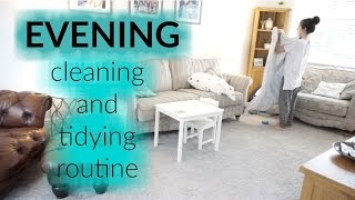 MUM / MOM OF TWO EVENING CLEANING AND TIDYING ROUTINE