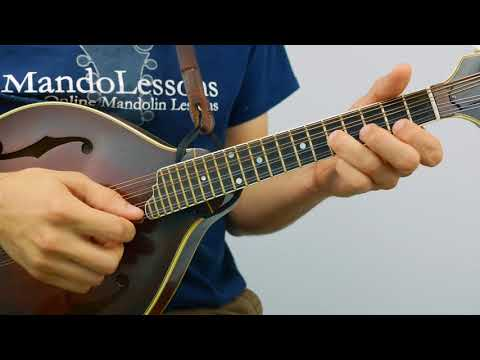 Old French (With Tabs & Play Along Tracks) - Mandolin Lesson