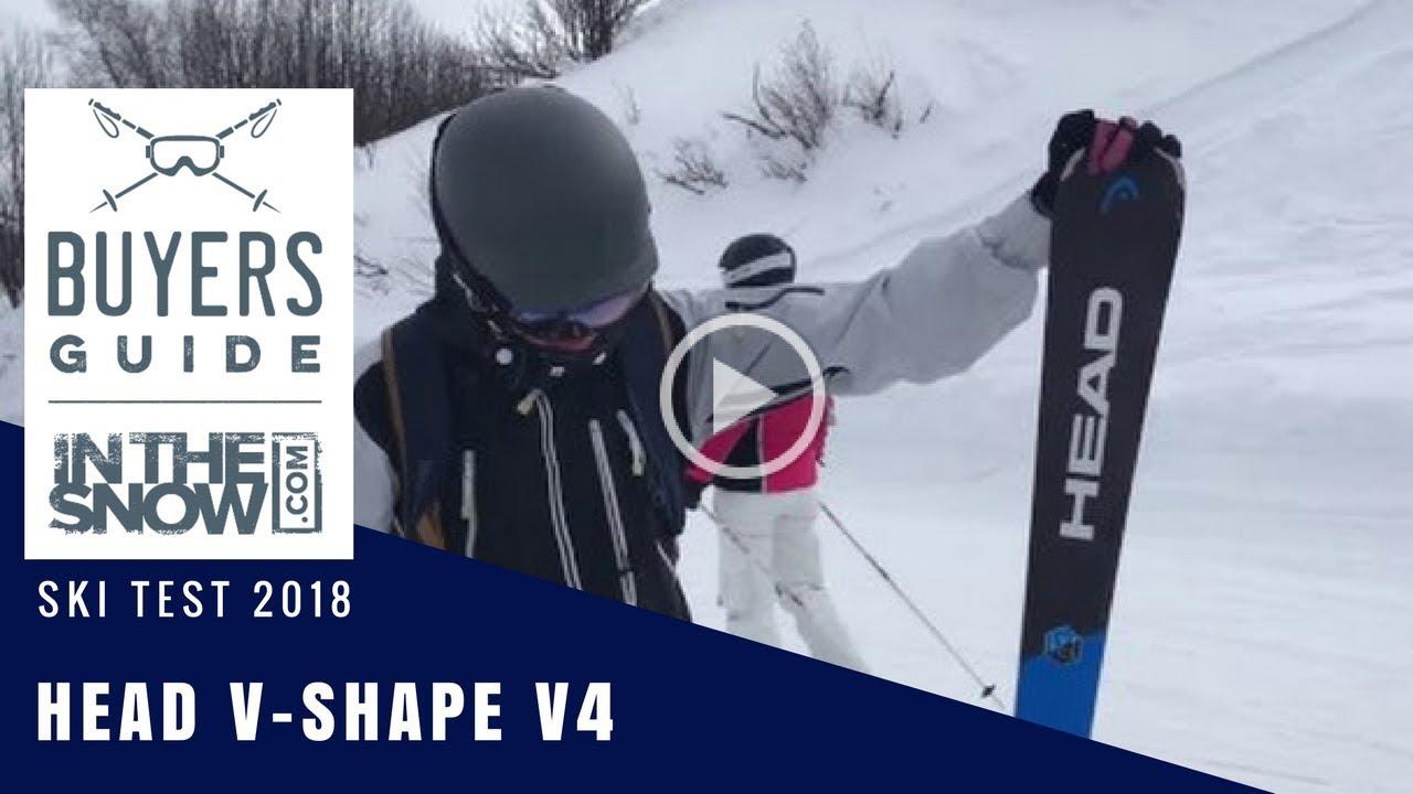 1b22e709cf55 Head V-Shape V4 Ski Review - YouTube