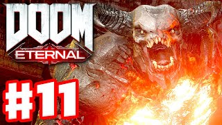 DOOM Eternal - Gameplay Walkthrough Part 11 - Nekravol Part II! (PC)