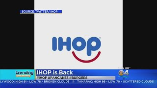 Trending: IHOP Is Back