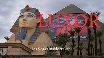 Luxor Las Vegas - Incredible Experiences Inside the Pyramid
