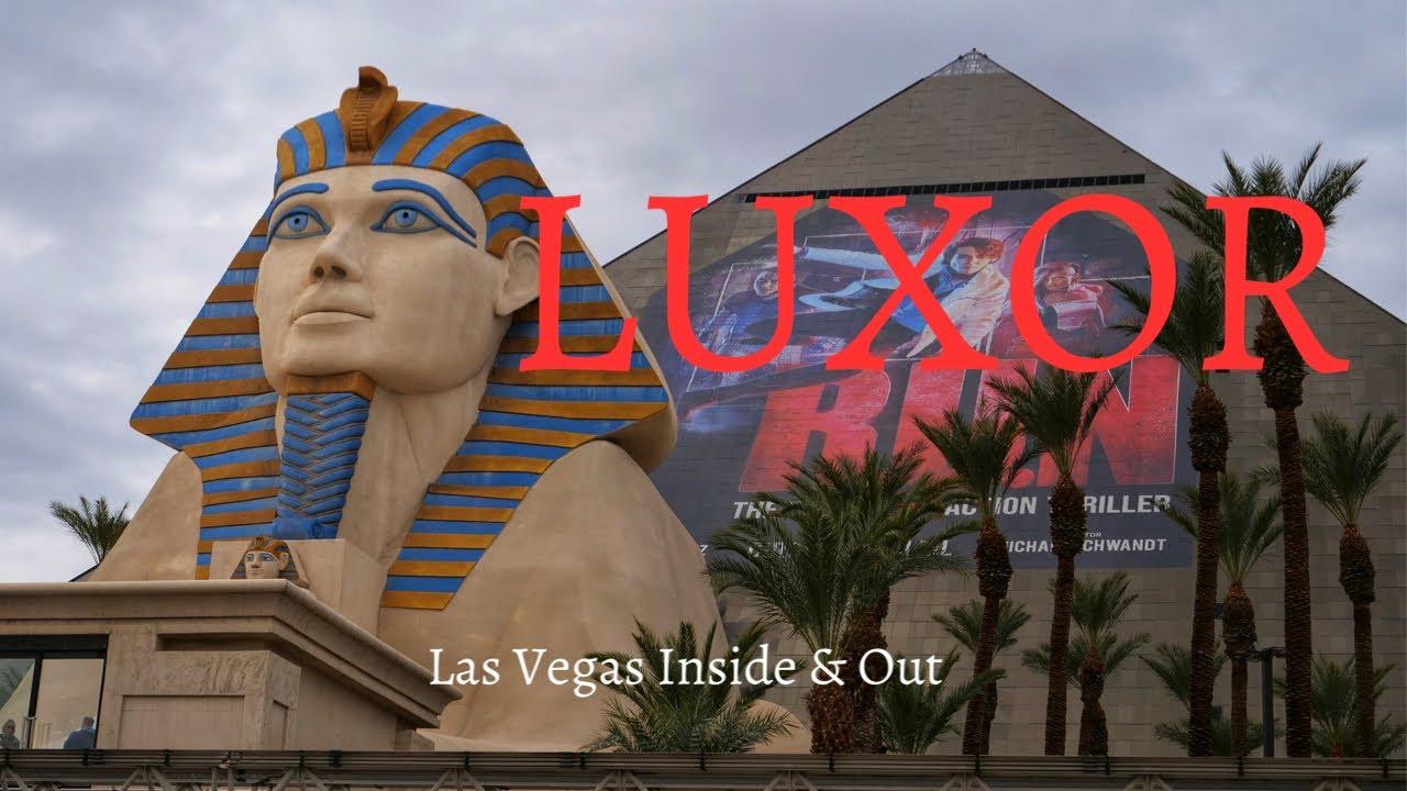 Luxor Las Vegas - Incredible Experiences Inside the Pyramid - YouTube