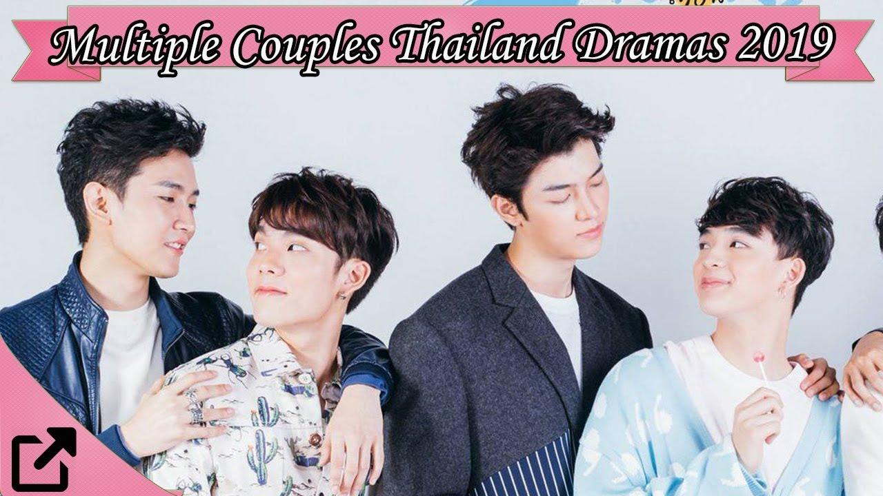 Top 25 Multiple Couples Thailand Dramas 2019