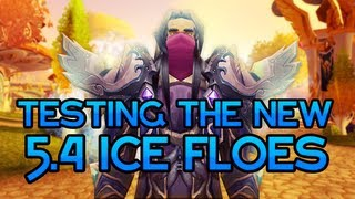 ICE FLOES?!? Testing out the New 5.4 Ice Floes with Kryoz