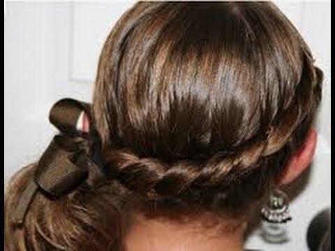 Peinados faciles para ni as ideas faciles y originales - Peinados nina pelo largo ...