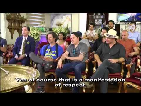 Mr. Adnan Oktar's Live Conversation with His Guests from Vice News