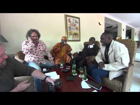 Ron meets Sammy and Bruce in Tanzania