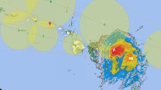 Oahu Live Hurricane / Tropical Storm Coverage ISELLE