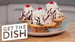 Cinnamon Roll Ice Cream Bowls | Get the Dish thumbnail