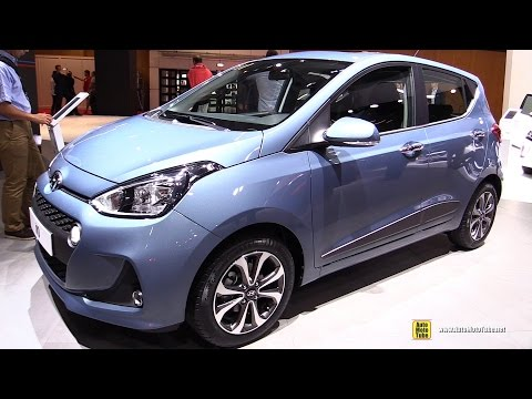 2017 Hyundai i10 - Exterior and Interior Walkaround - Debut at 2016 Paris Motor Show