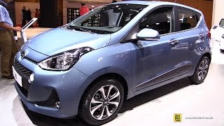 2017 hyundai i10 exterior and interior walkaround debut at 2016 paris motor show