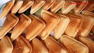 🍮Cách Làm Bánh fLan Nướng Khuôn Hot Dog || How To Make Hot Dog Baking Pan