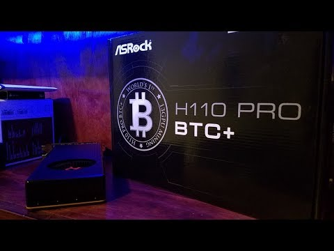asrock h110 pro btc+ 13 gpu mining motherboard cryptocurrency specs