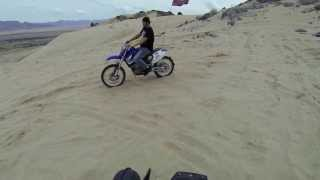 Yamaha Banshee going up sand mountain ,UT with GoPro black ED