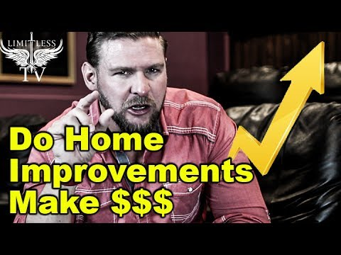 What improvements increase the value of a home youtube for Home improvements that increase value