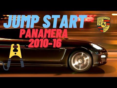 ▶️How to Jump Start A Porsche Panamera Safely 2010 2011 2012 2013 2014 2015 2016