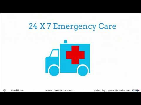 24x7 Emergency Medical care Services by Medikoe