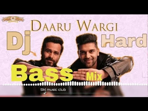 Daaru Wargi Dj Remix Bass Boosted||Guru Randhawa Cheat India Song||daru Wargi Dj Remix 2018