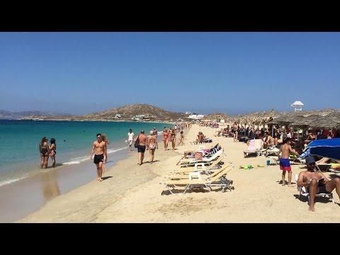 Agios Prokopios beach - Naxos island, Greece