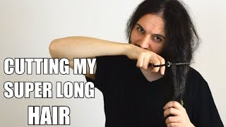Cutting My Very Long Hair (After 6 Years!)