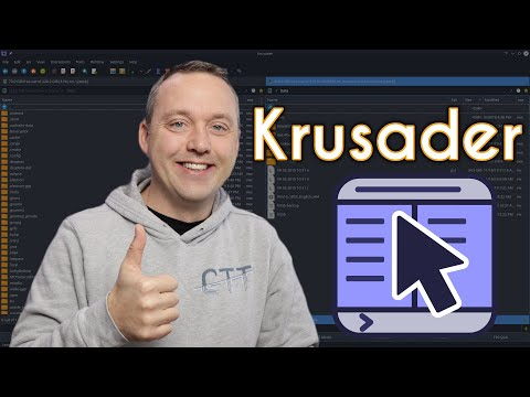 The Krusader File Manager