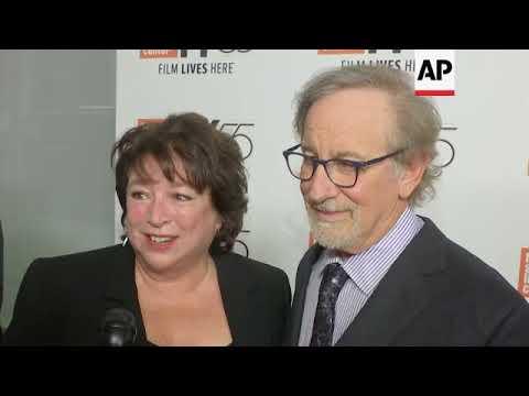 Steven Spielberg attends NYFF screening of 'Spielberg'; admits to having opinions on Weinstein