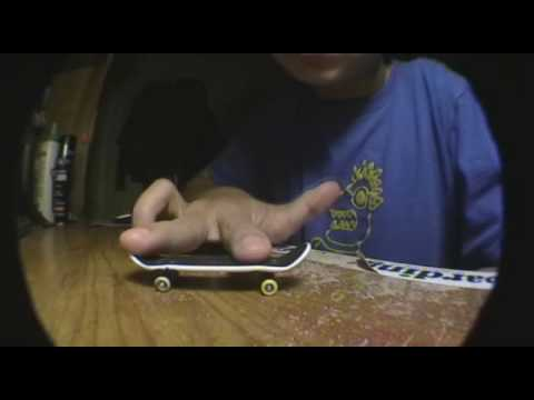 How To Do An Ollie On A Tech Deck/Fingerboard