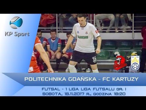 Politechnika Gdańska - FC Kartuzy / LIVE / 1 Polska Liga Futsalu [18.11.2017]
