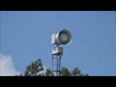 7-10-19 Jones Valley Elementary School 2001-SRN Siren Short Alert + Silent Test, Huntsville, AL