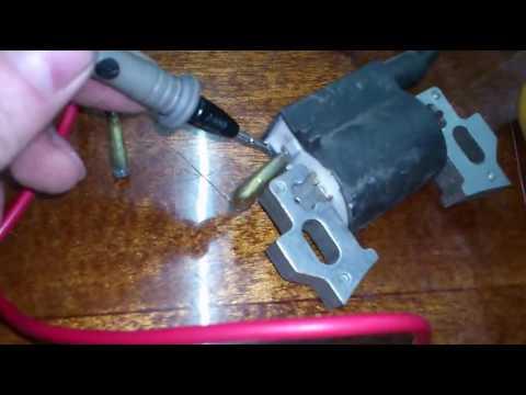 Как проверить катушку магнето мультиметром