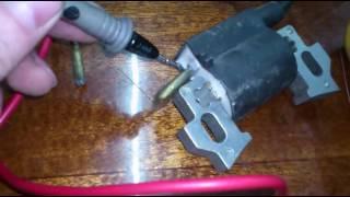 Тексеру катушки зажигания мотоблока. How to check the ignition coil motor cultivator.