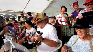 The Castlefields Ukulele Orchestra Live 09 - These Boots (Castlefields Pleasure Day 5/08/2012)