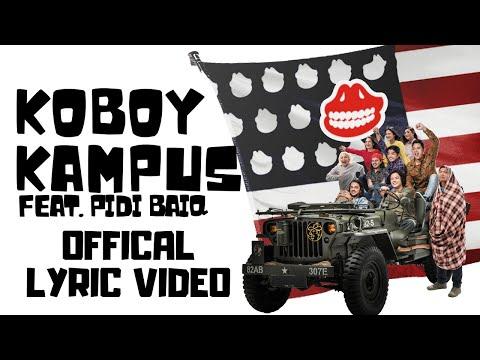 The Panasdalam Bank - Koboy Kampus feat. Pidi Baiq (Official Lyric Video)