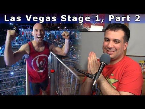 Las Vegas Stage 1, Part 2 - American Ninja Warrior 9 Review