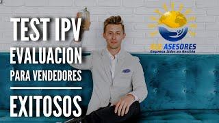 Test IPV unica evaluación para reclutar a los mejores vendedores por Bertrand Reto de ELG ASESORES